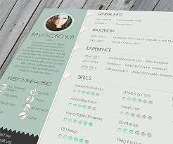 30 Free & Beautiful Resume Templates To Download - Hongkiat