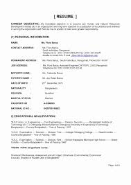 Resume Sample For Civil Engineering Technician Valid Hvac