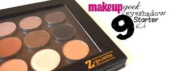 makeupgeek eyeshadow starter kit review