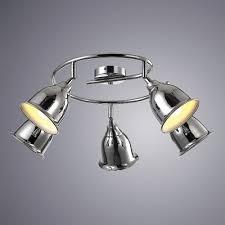Светильник <b>спот Arte Lamp</b> Campana <b>A9557PL</b>-5CC - купить в ...