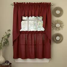kitchen tier curtains ribcord kitchen curtains by lorraine home fashions only 7 99