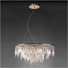 diyas il31716 maddison pendant round 8 light g9 rose gold crystal