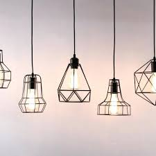 industrial cage light new diamond ceiling lights