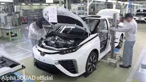 Toyota Mirai Manufacturing - Toyota Mirai Production and Assembly ...