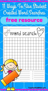 Word Search Puzzle Generator Pdf Vinny Oleo Vegetal Info