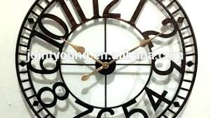 large outdoor clock wall giant extra exterior