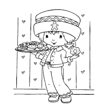 Strawberry Shortcake Anna Aardbei Kleurplaten Leuk Voor Kids