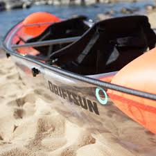 Transparent Canoe Kayak Driftsun Transparent Two Person Kayak The Coolector