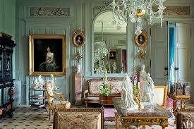 Mint Green - Paint Colors - Wall Ideas - French Chateau - Rococo Style -  Interior