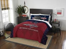 nhl washington capitals queen comforter and 2 shams
