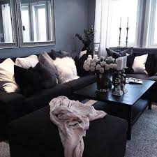Gray And Black Living Room 1227418767