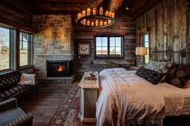 Log Cabin Style Bedrooms 01 1 Kindesign