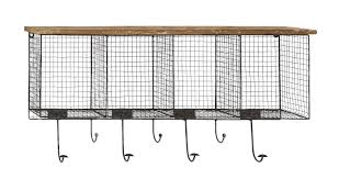 Wire Coat Rack Wood And Metal Wire Coat Rack Reviews AllModern 18