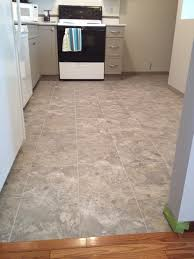 luxury vinyl tile flooring installation