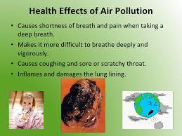 pollutions and solutions health effects of air pollution