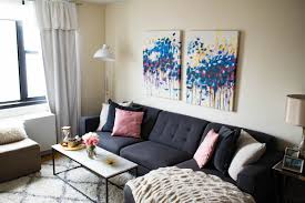 Nyc Living Room Home Decor Update New York City Apartment 2017 Katies Bliss