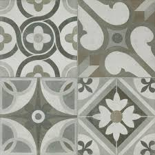 Deco Tile Grey Memory Porcelain Tile