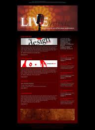 Music Newsletter Templates Newsletter Templates Eggostudio Com Eugengolumbeanu Portfolio
