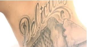 Tetování Nápisy Jeffree Star
