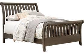 full size bed. Santa Cruz Gray 3 Pc Full Sleigh Bed Size