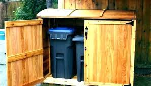 hide outdoor trash can kitchen trash can hider garbage can hider best outdoor garbage can kitchen