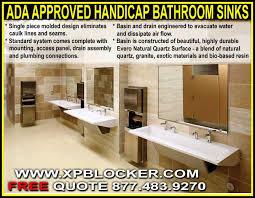 Ada Commercial Bathroom Minimalist Interesting Decorating Ideas