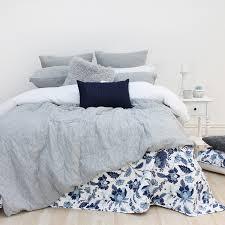 design republique marle jersey quilted grey duvet cover set euro pillowcase