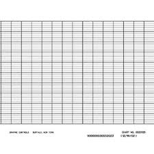 Cole Parmer Chart Recorder Paper