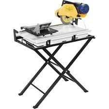 free qep dual sd tile saw 10in blade 15 amps