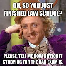 Oh, so you just finished law school? Please, tell me how difficult ... via Relatably.com
