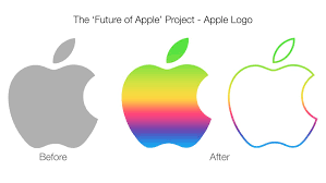 official apple logo 2014. colorful apple logo concept by ccard3dev official 2014 a