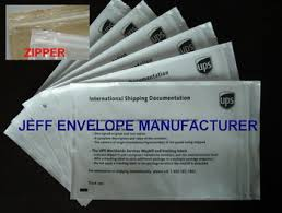 Ups Zipper Packing List Envelope Buy Waybill Pouch Product On