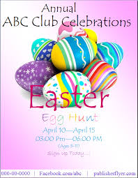Easter Flyer Templates | 10+ Free Printable Pdf & Word