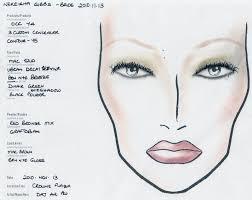 makeup face charts free mugeek vidalondon