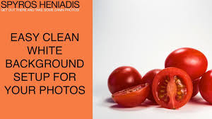 easy seamless white background setup for and food photography you