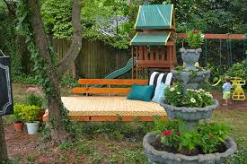 outdoor decorating ideas diy outdoor lounging area and water feature