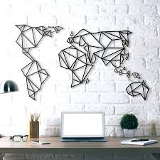 wall art for the bedroom world map metal wall art world map decor wall decor and wall art for the bedroom