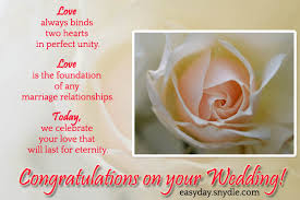 Wedding Wishes Quotes New Top Wedding Wishes And Messages Easyday