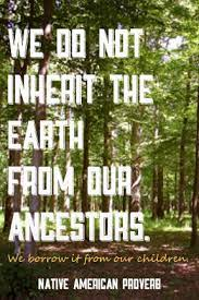 Earth day inspired 20 million americans — at the time, 10% of the total population of the united states — to take to the streets, parks and auditoriums to demonstrate against the impacts of 150 years of industrial development which had left a growing legacy of serious human health impacts. Native American Proverb Ignatian Solidarity Network