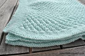 Easy Baby Blanket Knitting Patterns For Beginners Interesting Easy Knitting Patterns Popcorn Baby Blanket Peace But Not Quiet