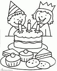 Kleurplaat Verjaardag Tweeling Of Jongen Of Meisje Kleu 100