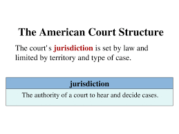 The Court System The American Court Structure The U S Has