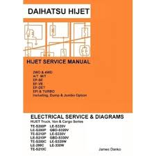 hijet english electrical service manual s200p s210p s320v s330v daihatsu hijet english electrical service manual s200p s210p s320v s330v