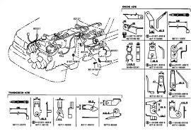 toyota tacoma fuse box wiring harness diagram wiring all about mustang wiring harness diagram at 2000 Mustang Transmission Wiring Harness