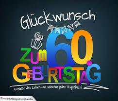 Spruch Zum 60 Awesome Sprüche Zum 60 Geburtstag Karte Mit Schönem