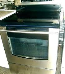 clean oven glass two door oven lg glass top stove replacement oven glass replacement two door