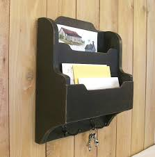 mail and key holder for wall primitive mail key and organizer entry way mail organizer
