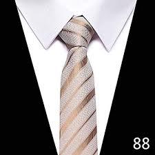 Mzzddld Fashion Hand Tie 8cm Formal Suit Business Wear