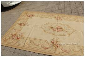 vintage french decor 5x8 aubusson area rug