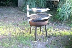 outdoor fire pit with cooking grate round grate for outdoor fire pits aitegyptorg outdoor fire pit